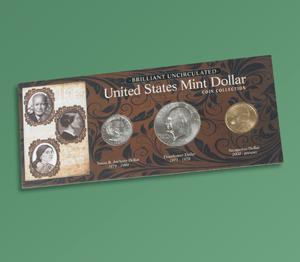 Brilliant Uncirculated U.S. Mint Dollar Coins