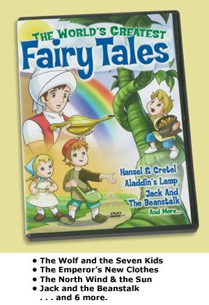 The World's Greatest Fairy Tales DVD