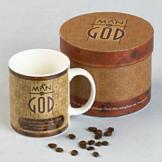 Man of God Gift Mug with Box