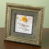 Proverbs 17:17 If Friends Were Flowers Plaque
