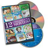 12 Children's Movies - 3-DVD Set