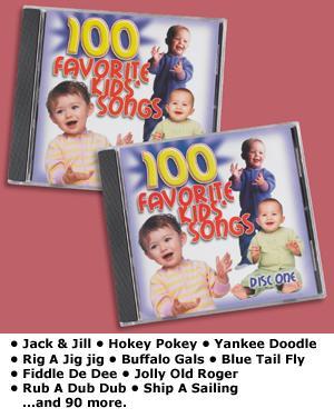 100 Favorite Kids' Songs - 2-CD Set