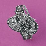 Jewel-Encrusted Butterfly Watch