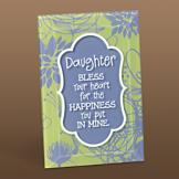 A Daughter is a Blessing Plaque