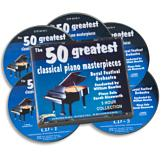 The 50 Greatest Classical Piano Masterpieces - 5-CD Set