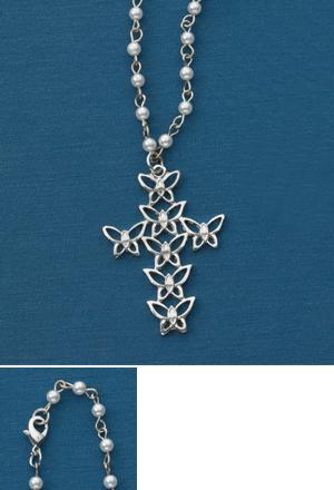 Butterfly Cross Pendant