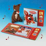 Rudolph Musical Book and Plush Toy Set