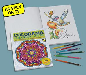 Colorama Coloring Book Reference Trivia Books Traditions