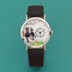 Kitty-Kat Watch with Gift Box