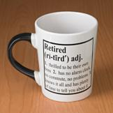 Extra-Large Retired Mug