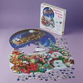 Christmas Snow Globe Puzzle