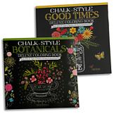 Chalkboard-Style Coloring Book - Each