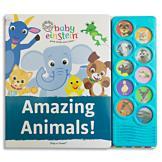 Baby Einstein Amazing Animals! Play-a-Sound Book