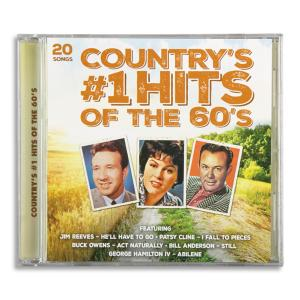 Country's Number 1 Hits of the 60's CD