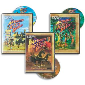 The Animated Kid's Bible - 3-DVD Set