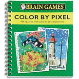 Brain Games Color by Pixel Book