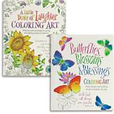 Messages of God's Love Coloring Art Book