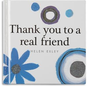 Thank You to a Real Friend Gift Book