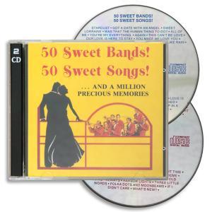 50 Sweet Bands! 50 Sweet Songs! - 2-CD Set