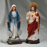 Jesus/Mary Figurine