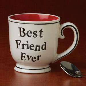 Best Friend Ever Ceramic Mug