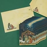 Manger Scene Christmas Cards - Set of 18