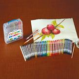 Water-Soluble Colored Pencils
