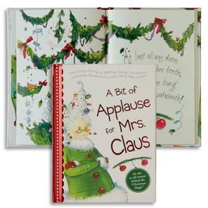 A Bit of Applause for Mrs. Claus Book