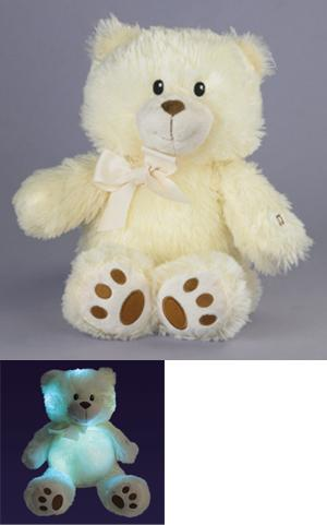 Cuddles the Light-Up Lullaby Bear