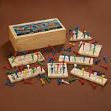 Wooden 7-in-1 Game Box