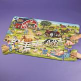 Jumbo Farm Puzzle