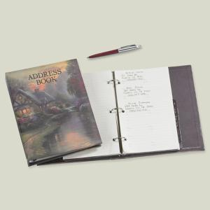 Thomas Kinkade Address Book