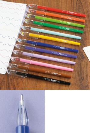 Petite-Point Gel Pens - Set of 12