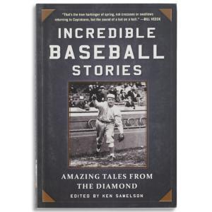 Incredible Baseball Stories Book