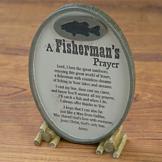 A Fisherman's Prayer Plaque