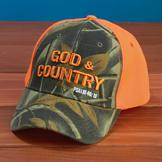Embroidered God and Country Cap