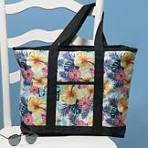 Tropical Shades Tote Bag
