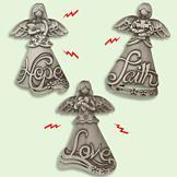 Angel Magnets - Set of 3