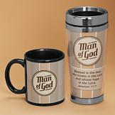 Man of God Travel Mug