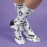 Musical Notes Socks