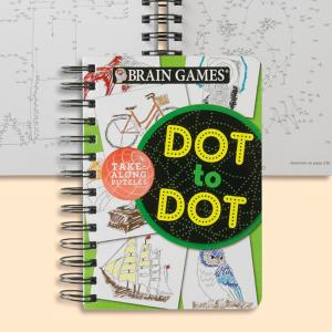 Brain Games Dot-to-Dot Puzzle Book