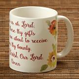 Watercolor Prayer Mug