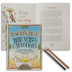 Draw, Doodle, Decorate: Bible Verses and Devotions Book