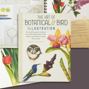 The Art of Botanical and Bird Illustration Book