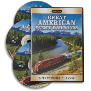 Great American Scenic Railroads - 3-DVD Set
