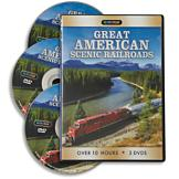 Great American Scenic Railroads - 3-DVD Set
