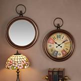 Pocket Watch Inspired Wall Piece - Clock