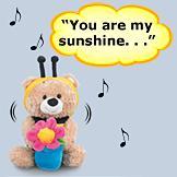 Sunny Bee Singing Bear