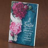 A Sister is More Than a Forever Friend Plaque