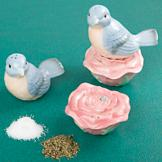 Bluebird Salt and Pepper Set